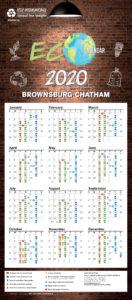 Brownsburg-chatham – Ecocalendrier 2020 -en