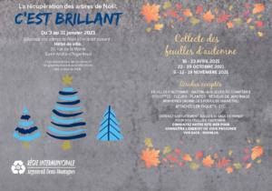 Dépôt arbres de noël SAINT-ANDRÉ D'ARGENTEUIL