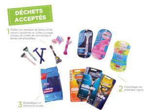 TERRACYCLE recyclez toutes marques de rasoirs, lames et leurs emballages!!!